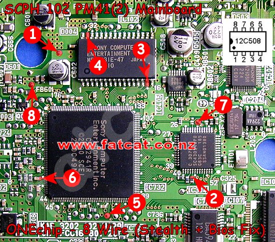 OneChip MM3 Playstation PAL PSOne PSX, PS1, PSOne Chip